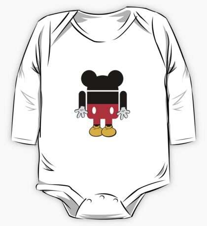 Android Mickey One Piece - Long Sleeve