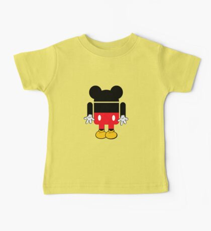 Android Mickey Baby Tee