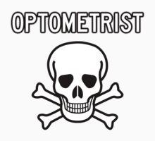 Optometrist Skull and Bones One Piece - Short Sleeve