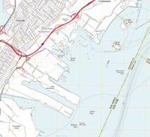 USGS TOPO Map New Jersey NJ Jersey City 20110609 TM Sticker
