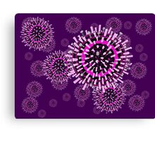 Influenza pattern Canvas Print