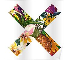 the xx flower tropical Poster