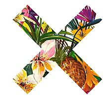 the xx flower tropical Photographic Print