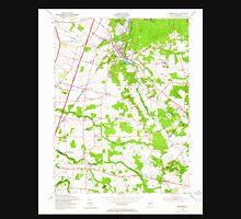 USGS TOPO Map New Jersey NJ Jamesburg 254488 1953 24000 Unisex T-Shirt
