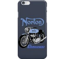 NORTON COMMANDO VINTAGE RETRO iPhone Case/Skin