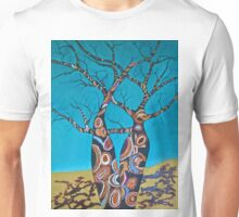 BOAB TREES with Aboriginal theme Unisex T-Shirt