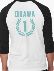 Haikyuu!! Oikawa Number 1 (Seijoh) Men's Baseball ¾ T-Shirt