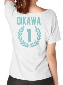 Haikyuu!! Oikawa Number 1 (Seijoh) Women's Relaxed Fit T-Shirt