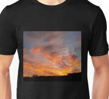 Otherworldly streaks of light Unisex T-Shirt