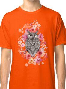 OWL & FLOWERS Classic T-Shirt