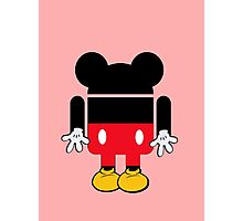 Android Mickey Photographic Print