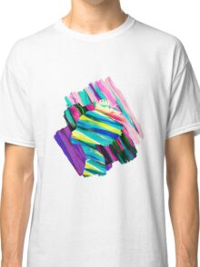 Africa Dream Woman Peace Rainbow Collage Classic T-Shirt