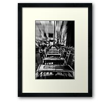 Alignment Framed Print