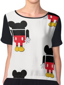 Android Mickey Chiffon Top