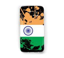 India Flag Ink Splatter Samsung Galaxy Case/Skin