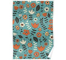 Whimsical Flowers II Poster