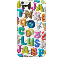 The Alphabet is your Playground iPhone Case/Skin