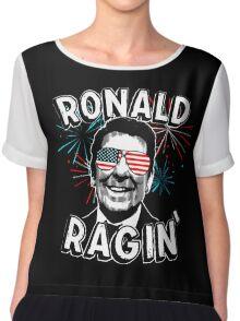 Ronald Ragin' Chiffon Top