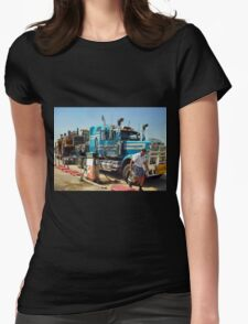Mobile Plant Haul Womens Fitted T-Shirt