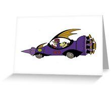 Wacky Races Cool Stuff  Greeting Card