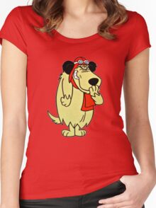 Cool Laughing Muttley  Women's Fitted Scoop T-Shirt