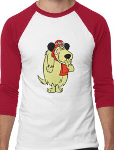 Cool Laughing Muttley  Men's Baseball ¾ T-Shirt