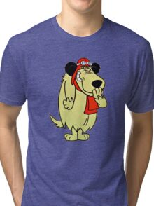 Cool Laughing Muttley  Tri-blend T-Shirt
