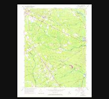 USGS TOPO Map New Jersey NJ Dorothy 254320 1956 24000 Unisex T-Shirt