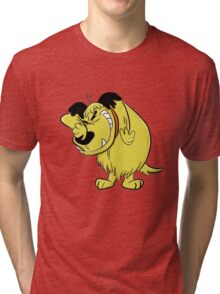 Wacky Races and Muttley Dope Stuff Tri-blend T-Shirt