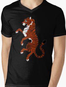 Tiger Tiger Mens V-Neck T-Shirt