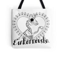 Einhornovska logo dead unicorn Tote Bag