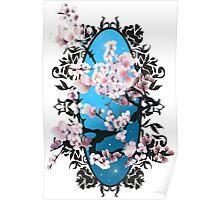 Blossom sakura. Vector illustration Poster