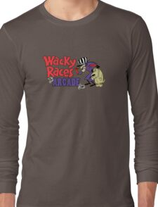 Wacky Races Arcade Game Long Sleeve T-Shirt
