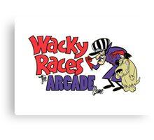 Wacky Races Arcade Game Canvas Print