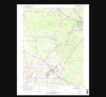 USGS TOPO Map New Jersey NJ Buena 254215 1953 24000 Unisex T-Shirt