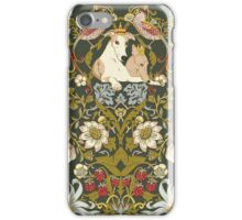 Whippets and Strawberry Thieves iPhone Case/Skin