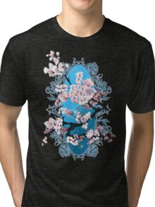 Blossom sakura. Vector illustration Tri-blend T-Shirt