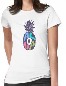 ALOHA! Womens Fitted T-Shirt