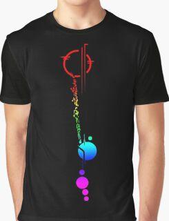 Commander Lexa's Tattoo (Rainbow) Graphic T-Shirt