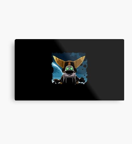 Ratchet&Clank Metal Print