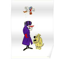 Wacky Races and Muttley Collectible Stuff Poster