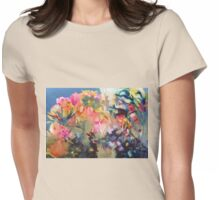 Inner Bloom Womens Fitted T-Shirt