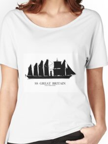 SS Great Britain - Tony Fernandes Nautical Women's Relaxed Fit T-Shirt