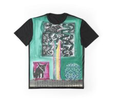 Fox and tree 3 Graphic T-Shirt
