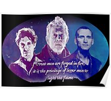 Great Men Are Forged in Fire, Doctor Who Poster