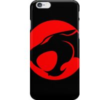 Thundercats Retro Cartoon Logo iPhone Case/Skin