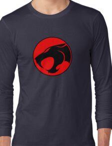 Thundercats Retro Cartoon Logo Long Sleeve T-Shirt