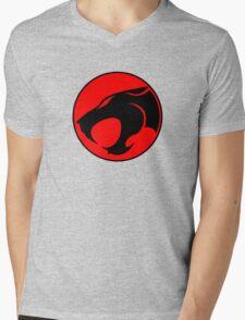 Thundercats Retro Cartoon Logo Mens V-Neck T-Shirt