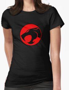 Thundercats Retro Cartoon Logo Womens Fitted T-Shirt