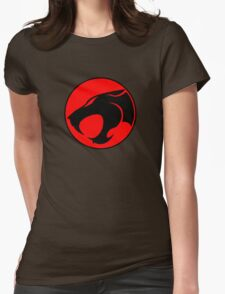 Thundercats Retro Cartoon Logo Womens Fitted T-Shirt